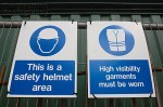 A062-00318_Health_and_Safety_sign_on_site
